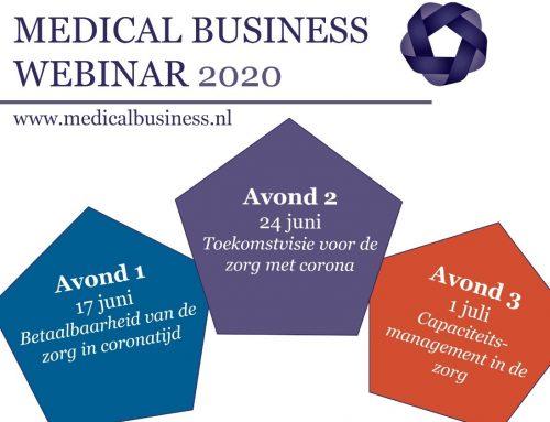 MB Webinars over de gevolgen van COVID-19 voor de zorg